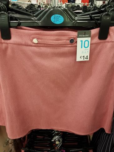 pink skirt penneys