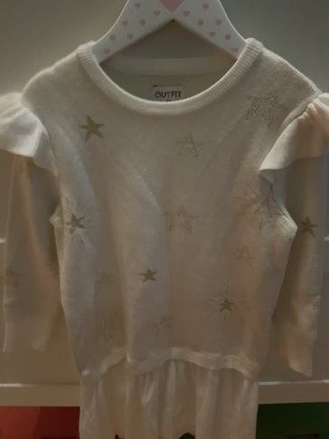 white star dress
