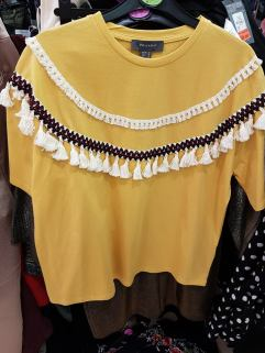 yellow fringe tshirt 10