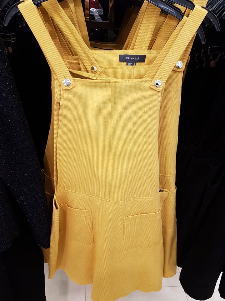 yellow pinafore