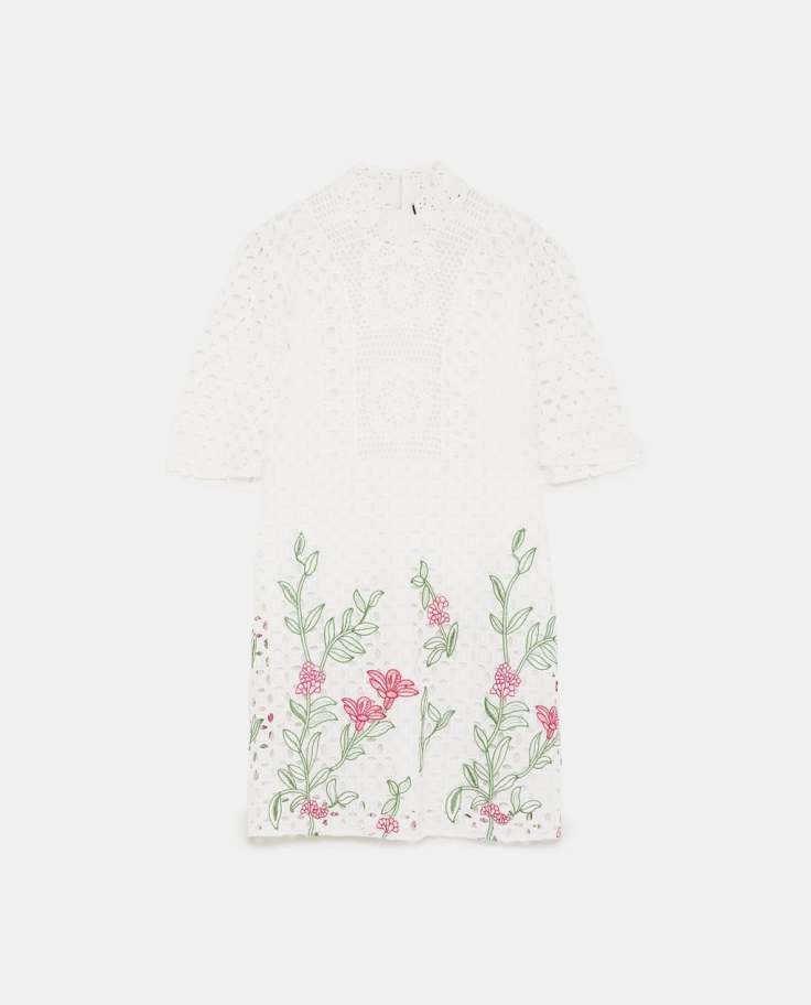 Zara lace dress 49.99