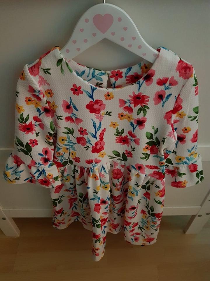 dunnes girls floral dress
