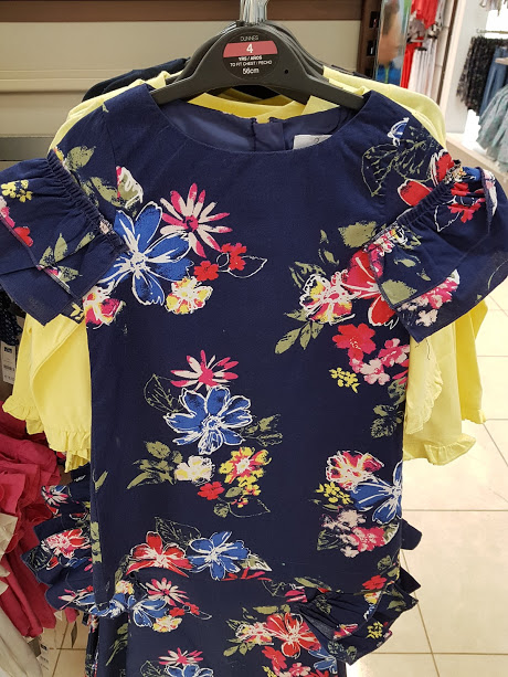 dunnes floral top