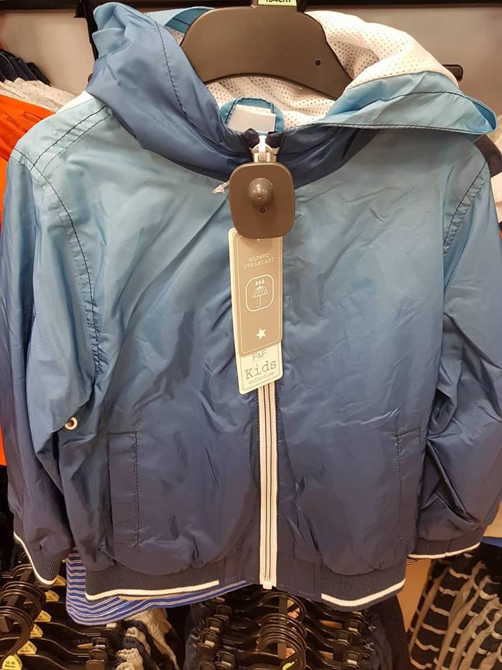 tiedie raincoat