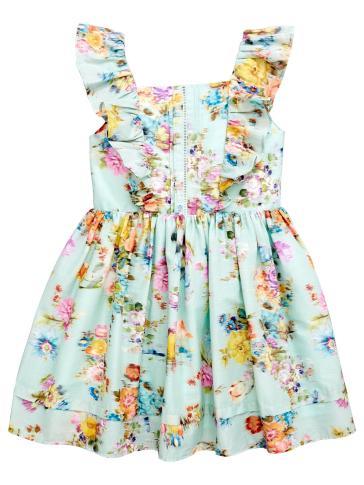 floral dress front
