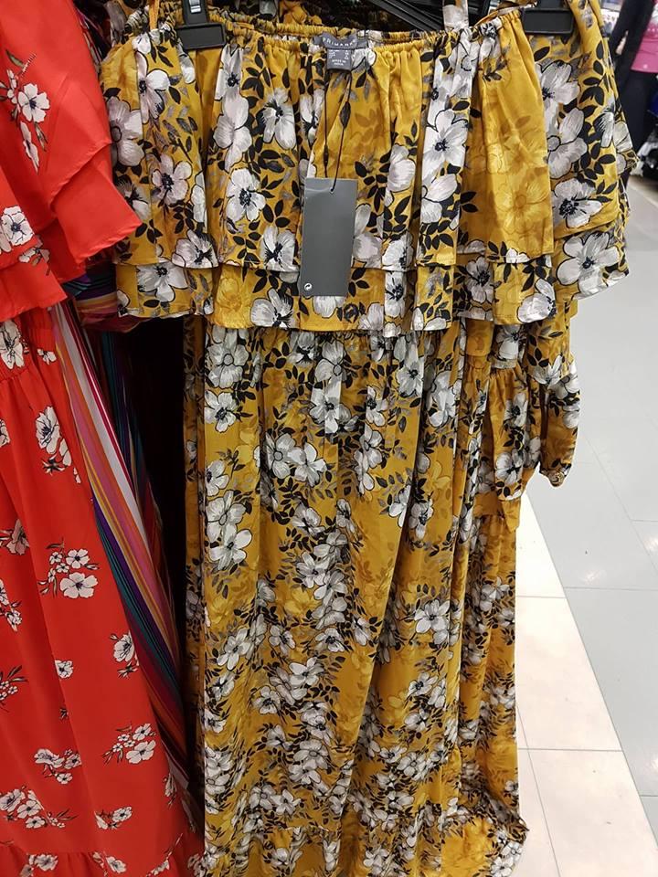 mustard floral penneys