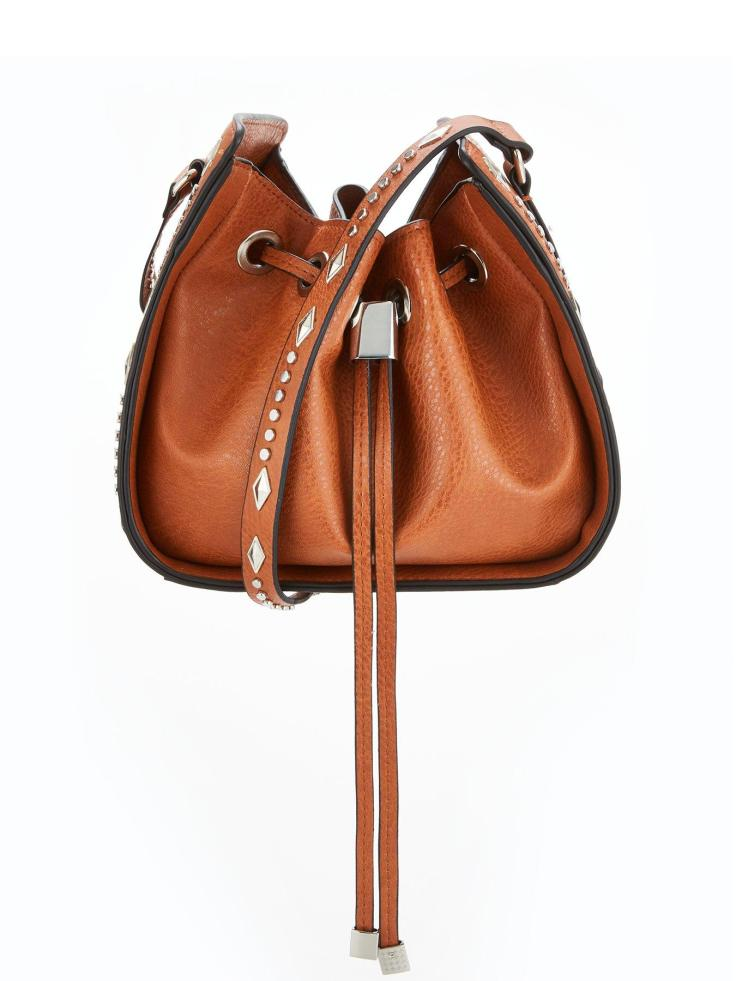 studded western bag 42