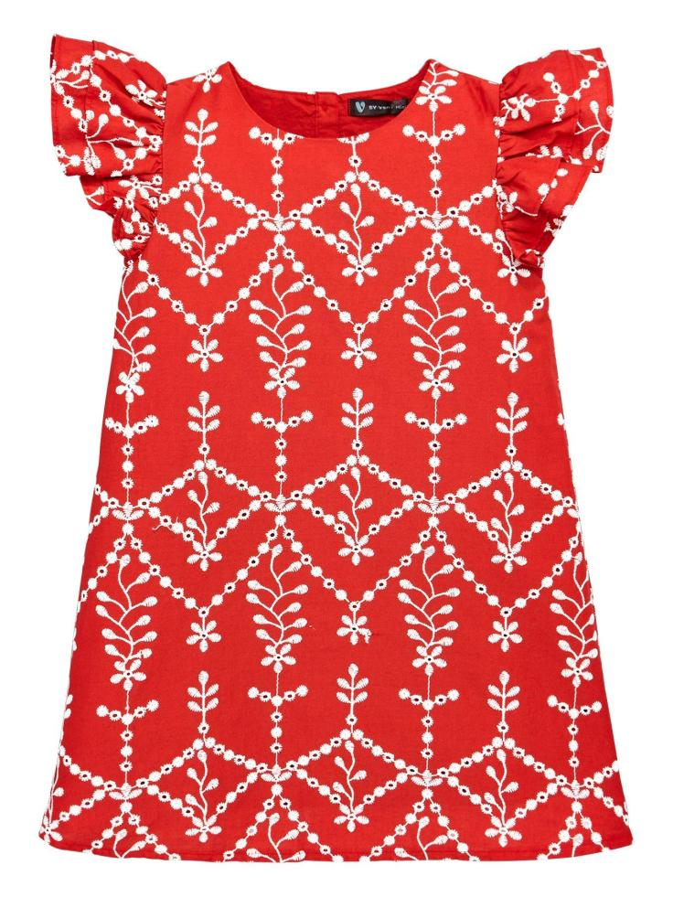 v by very red dress 1
