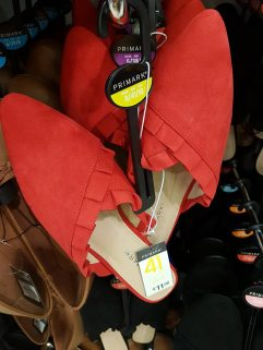 penneys red shoes