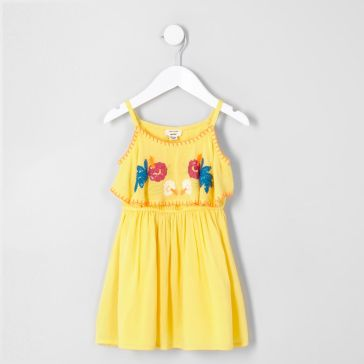 yellow floral `12