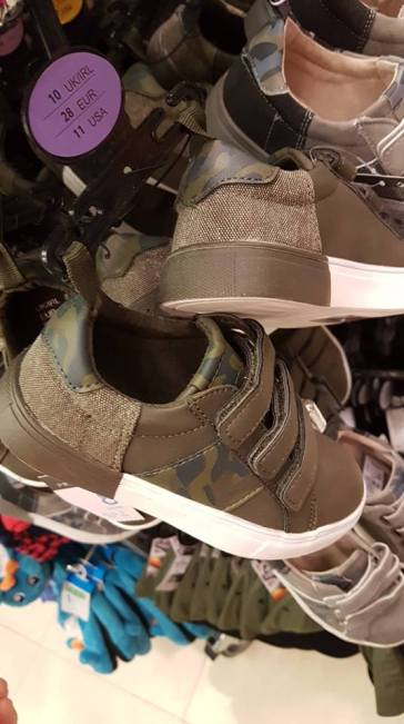 army shoes boys