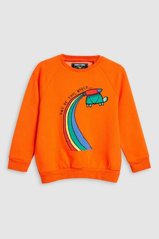 orange rainbow jumper